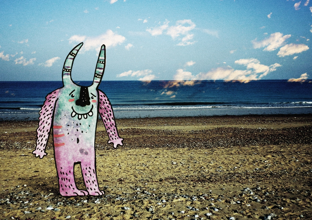 beach monster edit