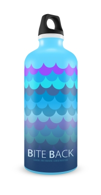 Bottle - Scales with gradient