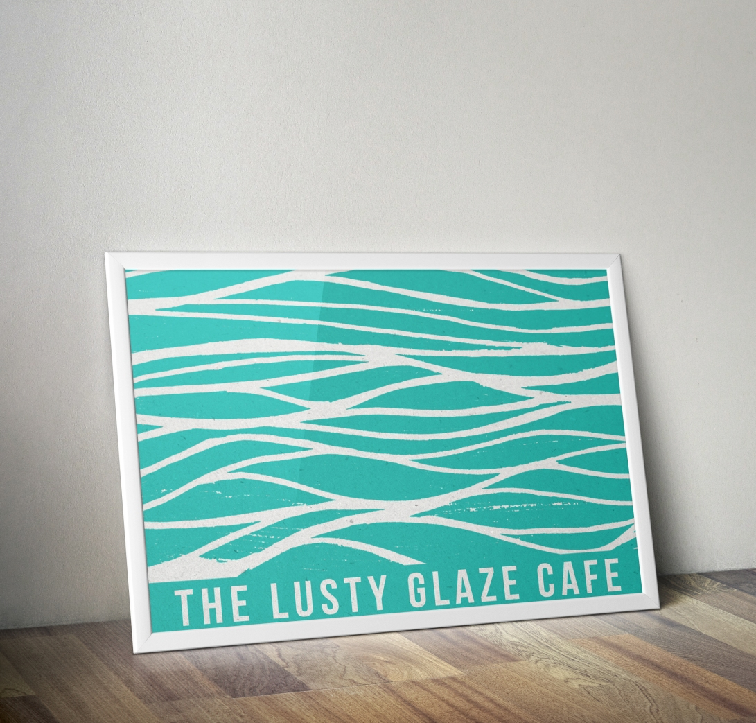 POSTER ART FOR CAFE WALL